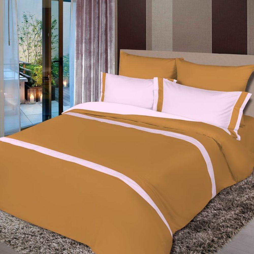 Постельное белье iv18598 (сатин) (2 спальный с Евро простынёй)
