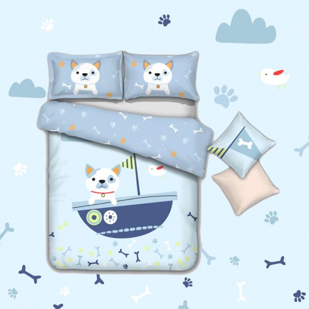 Постельное белье Догги (сатин) (1,5 спальный) брошь догги
