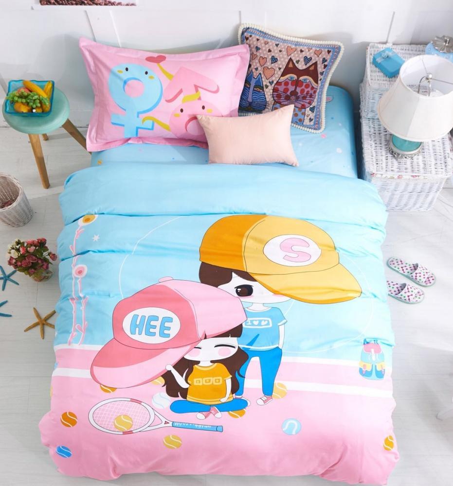Постельное белье Поиграем (сатин) (1,5 спальный) постельное белье cleo кпб сатин набивной люкс дизайн 406 1 5 спальный