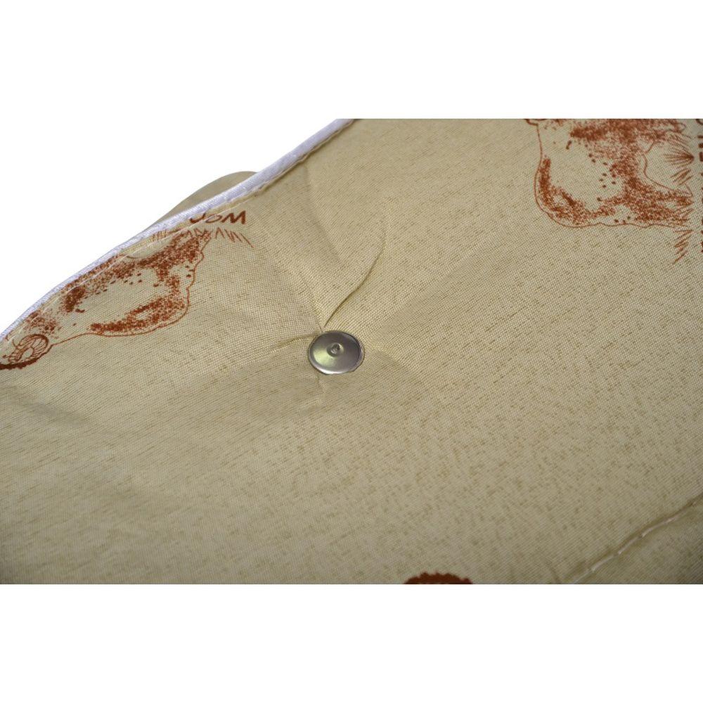 Одеяло iv15693 (овечья шерсть, микрофибра) (1,5 спальный (140*205))