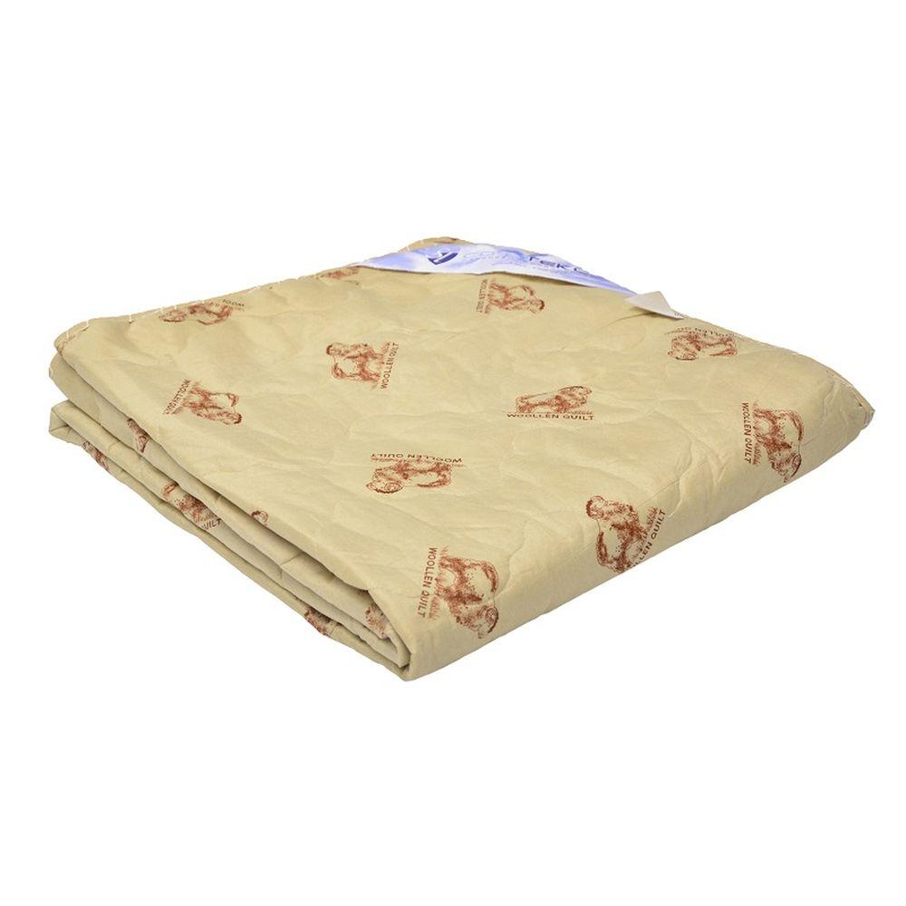Одеяло летнее iv15694 (овечья шерсть, микрофибра) Детский (110*140)