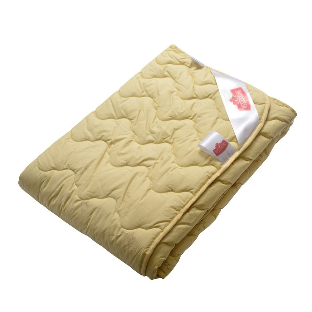 """Одеяло """"Комфорт"""" (овечья шерсть, тик) 1,5 спальный (140*205)"""