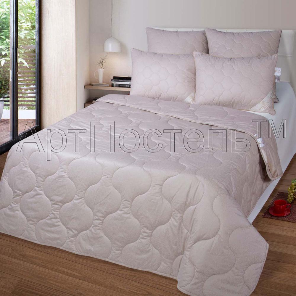 Одеяло детское зимнее iv20383 (верблюжья шерсть, тик) (Детский (110*140))