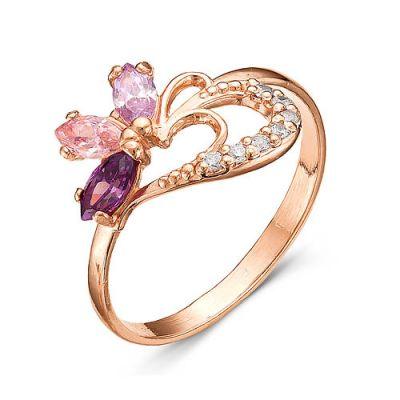 Кольцо серебряное iv9023