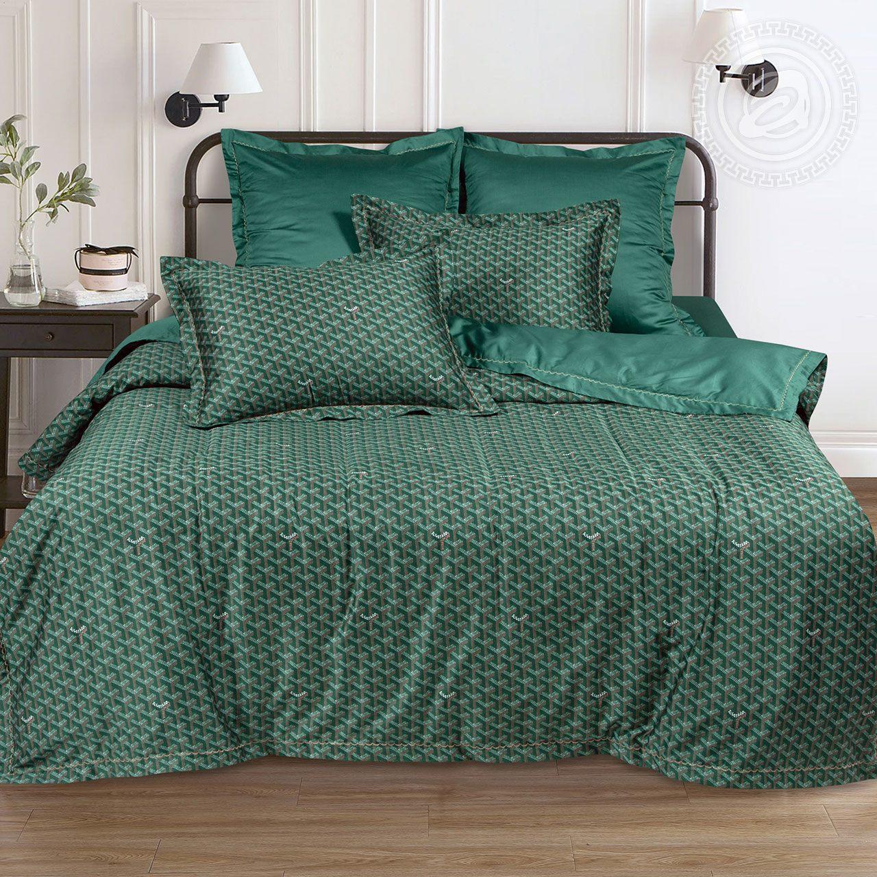 Постельное белье iv71599 (макосатин) (2 спальный с Евро простынёй)