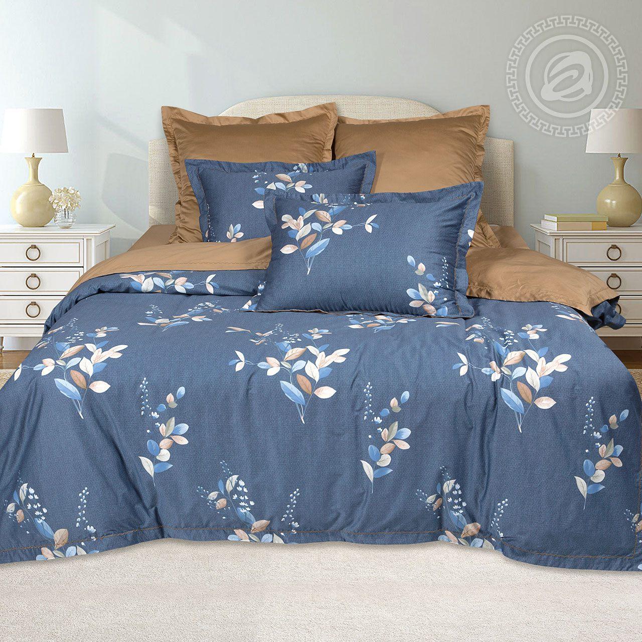 Постельное белье iv71601 (макосатин) (2 спальный с Евро простынёй)