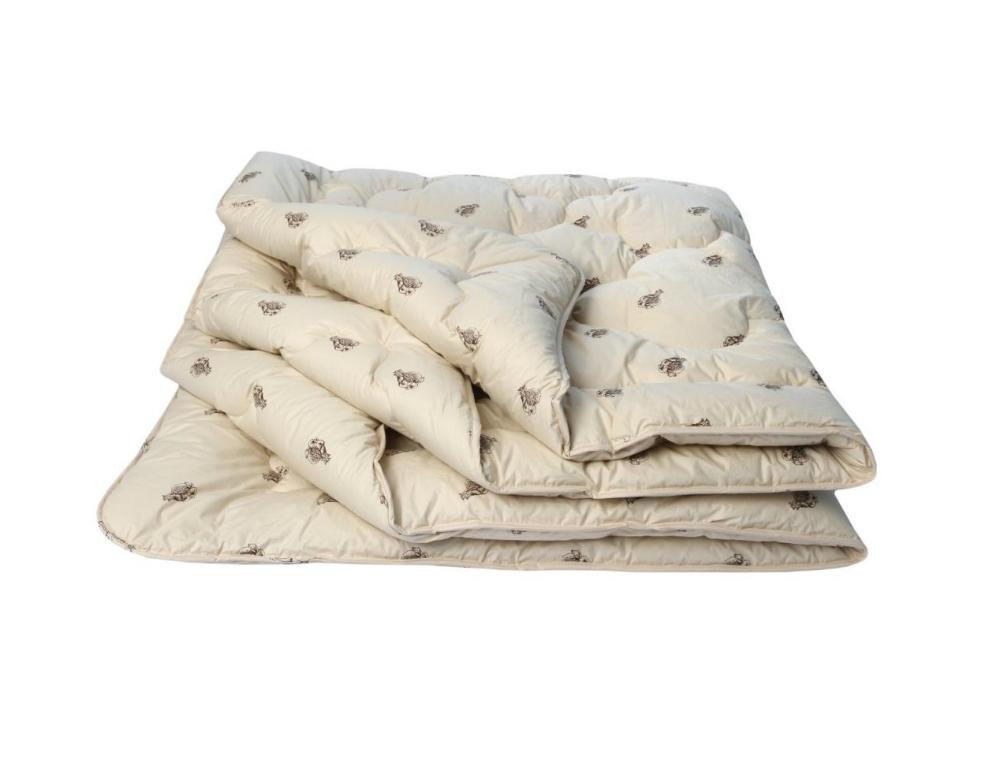 """Одеяло зимнее """"Верблюжья шерсть"""" (тик) (1,5 спальный (140*205)) одеяло зимнее"""