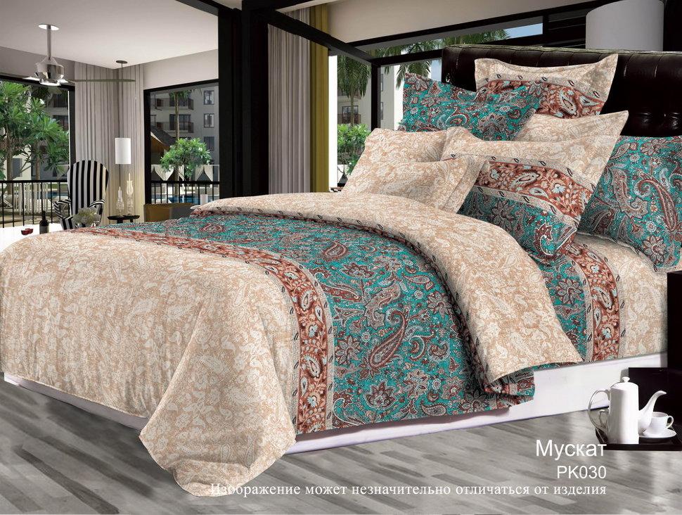 Фото - Постельное белье Мускат (бязь) (1,5 спальный) постельное белье этель кружева комплект 2 спальный поплин 2670978