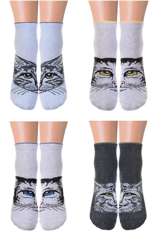 Носки женские Барс (упаковка 6 пар) (23-25) носки женские лайк упаковка 6 пар 23 25