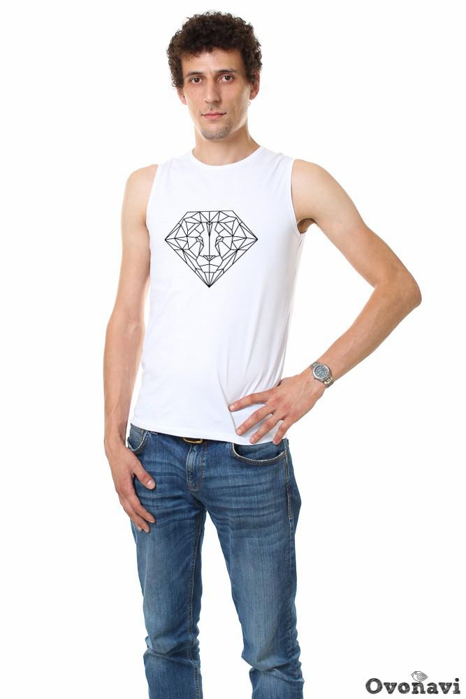 Футболка мужская Джастин (принт: лев) (46) футболка pepe jeans london футболка