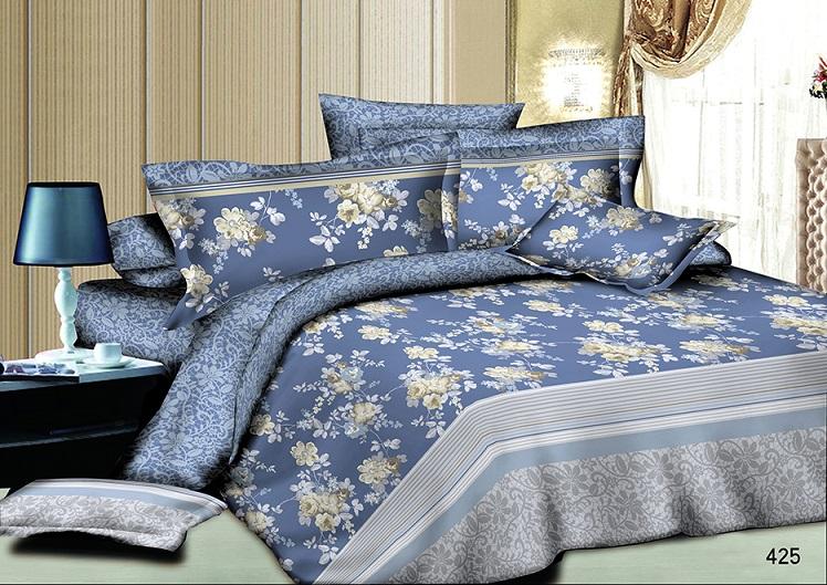 Постельное белье Марина (сатин) (1,5 спальный) постельное белье орсе сатин 1 5 спальный