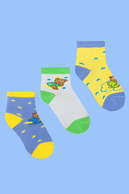 белье acoola носки детские 2 пары цвет ассорти размер 12 14 32224420037 Носки детские Сон (упаковка 3 пары) (12-14)