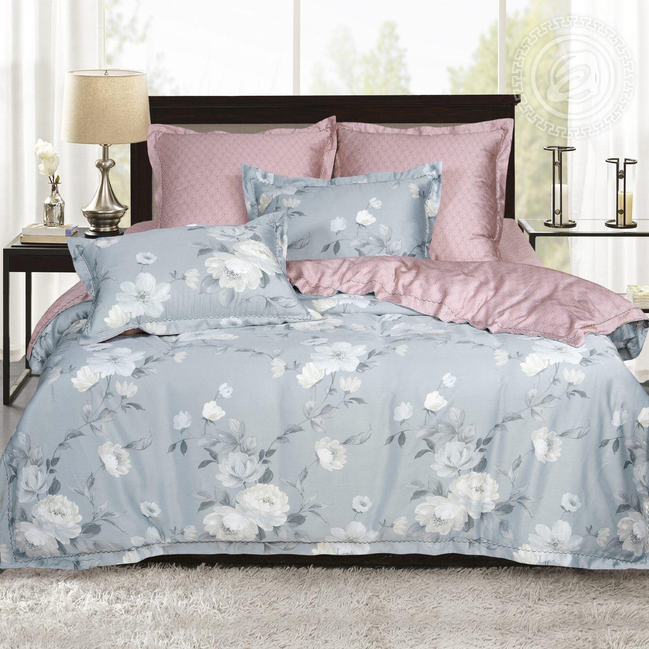 Фото - Постельное белье iv62474 (тенсель) (2 спальный с Евро простынёй) постельное белье евро bellehome bellehome mp002xu02ixb