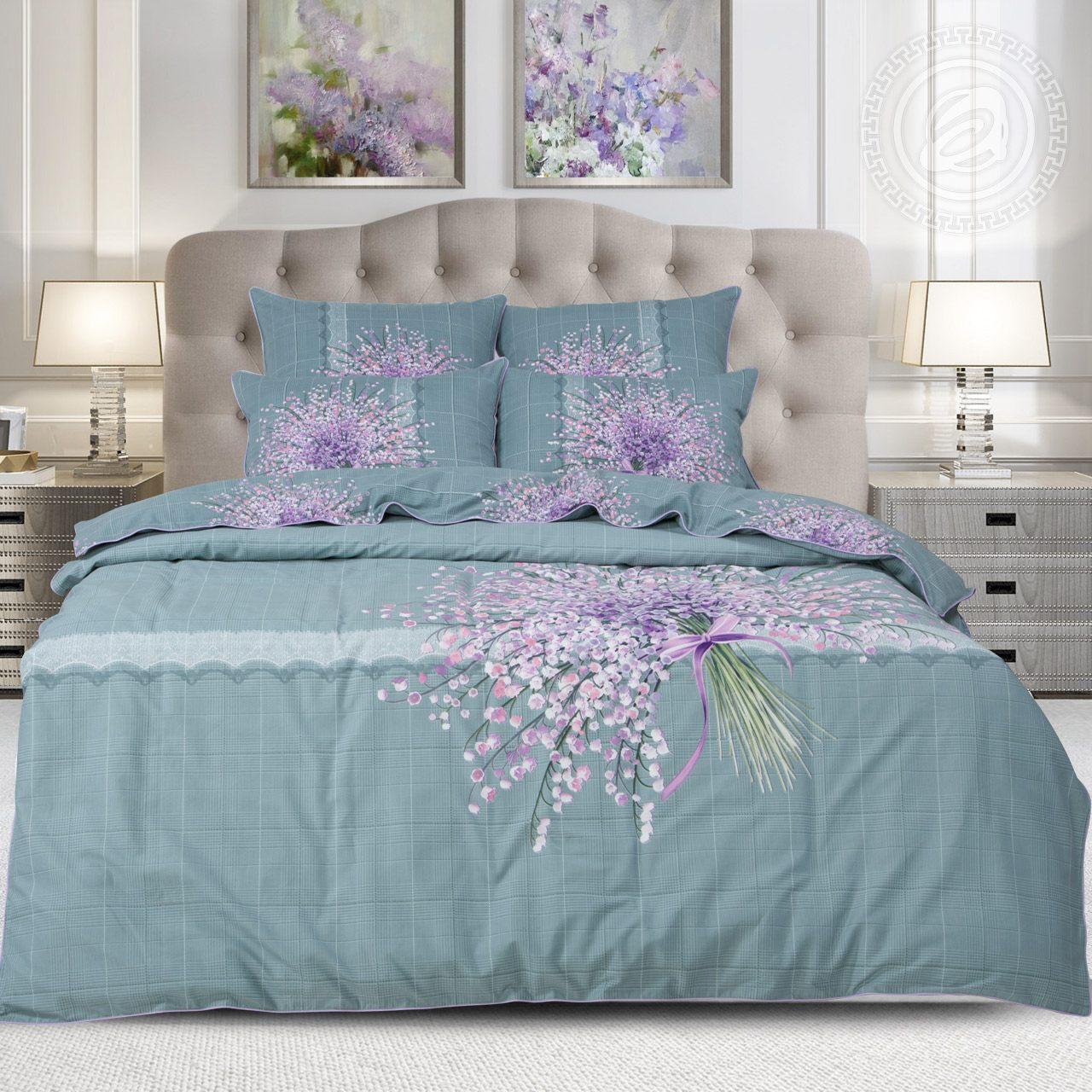 Фото - Постельное белье iv62479 (велюр) (2 спальный с Евро простынёй) постельное белье евро bellehome bellehome mp002xu02ixb
