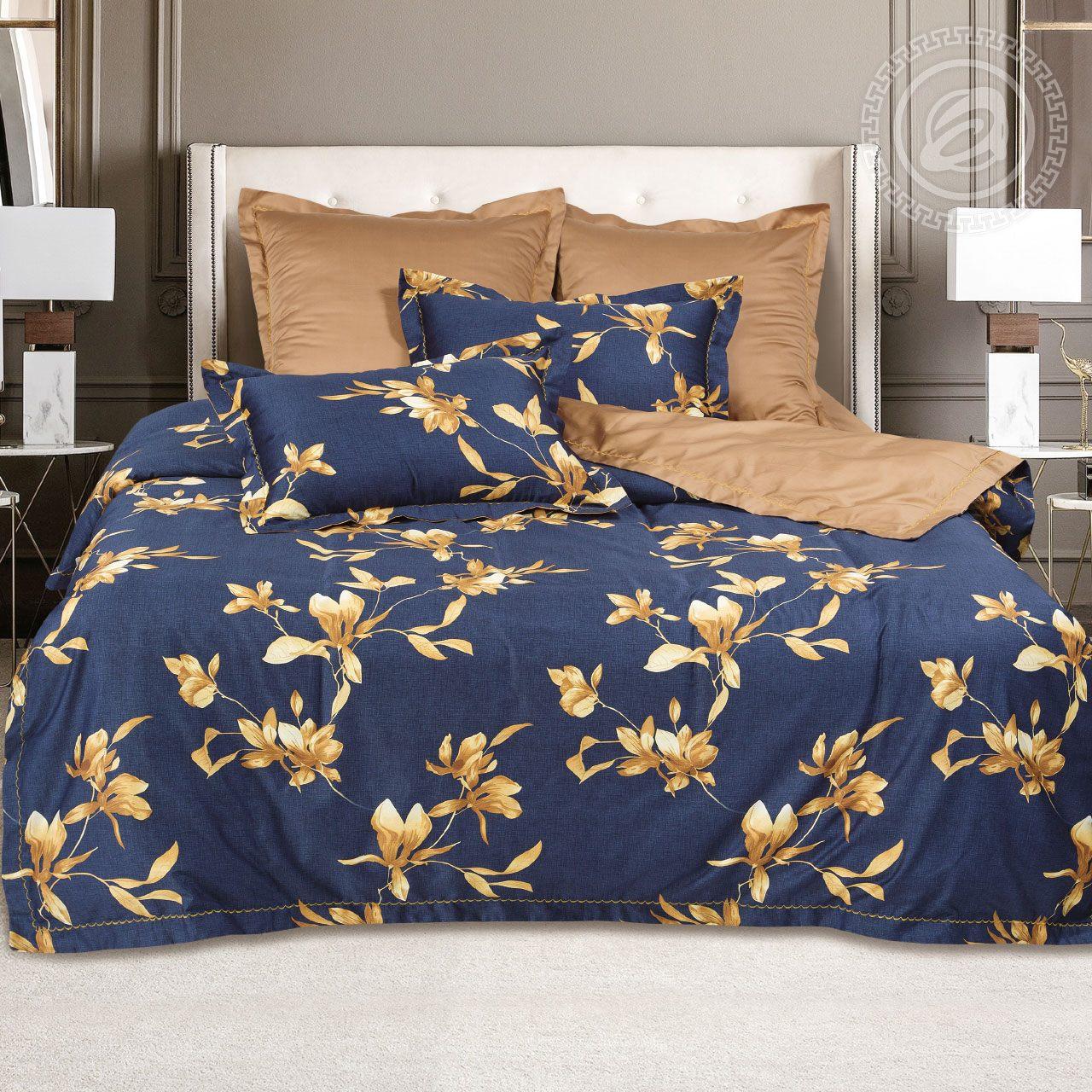 Фото - Постельное белье iv62482 (макосатин) (2 спальный с Евро простынёй) постельное белье евро bellehome bellehome mp002xu02ixb