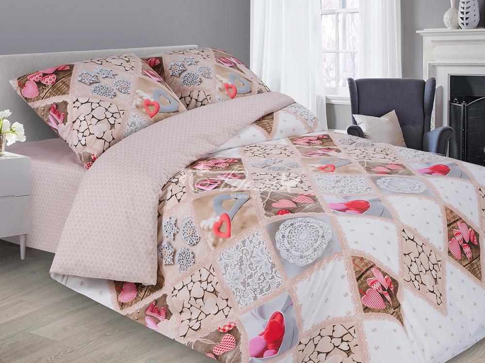 Фото - Постельное белье iv64061 (поплин) (1,5 спальный) постельное белье iv76089 поплин 1 5 спальный