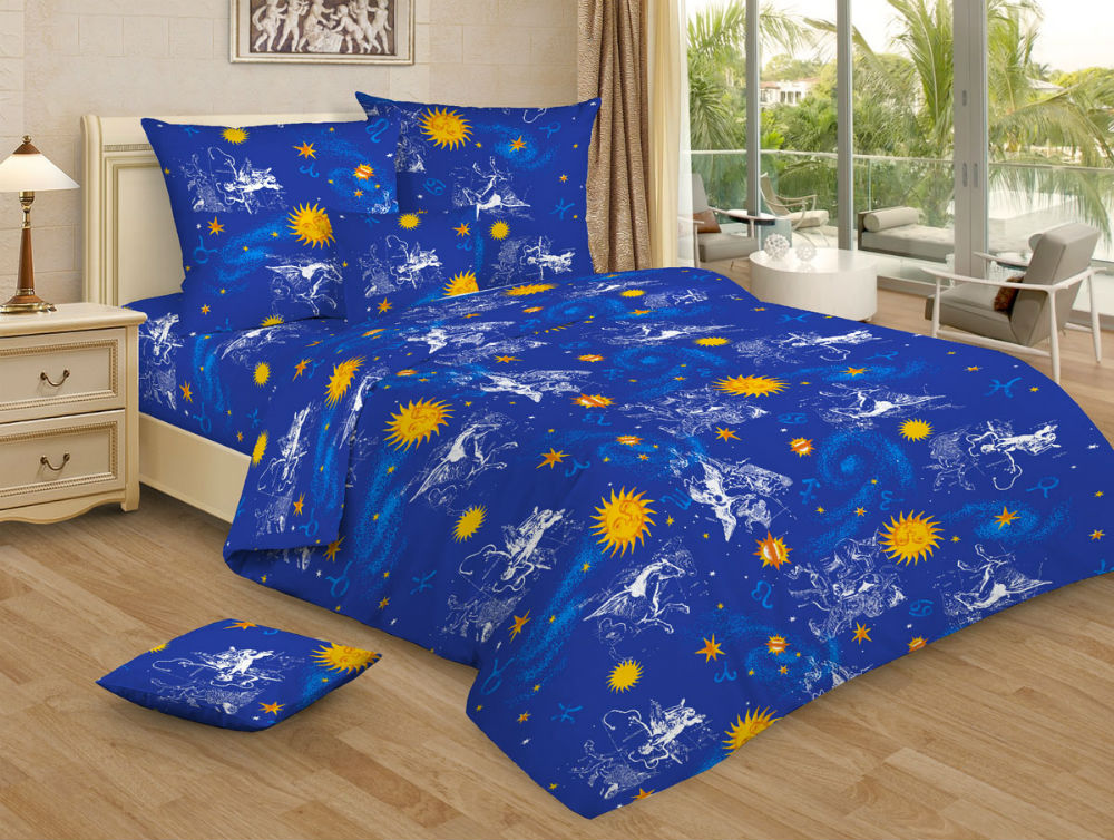 """Постельное белье """"Андромеда GS"""" (бязь) 1,5 спальный"""