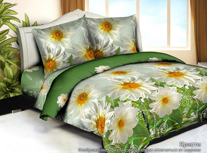 """Постельное белье """"Кристи"""" 3D (жатка) 2 спальный"""