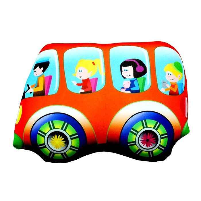 """Антистрессовая игрушка """"Автобус"""" 32х24"""