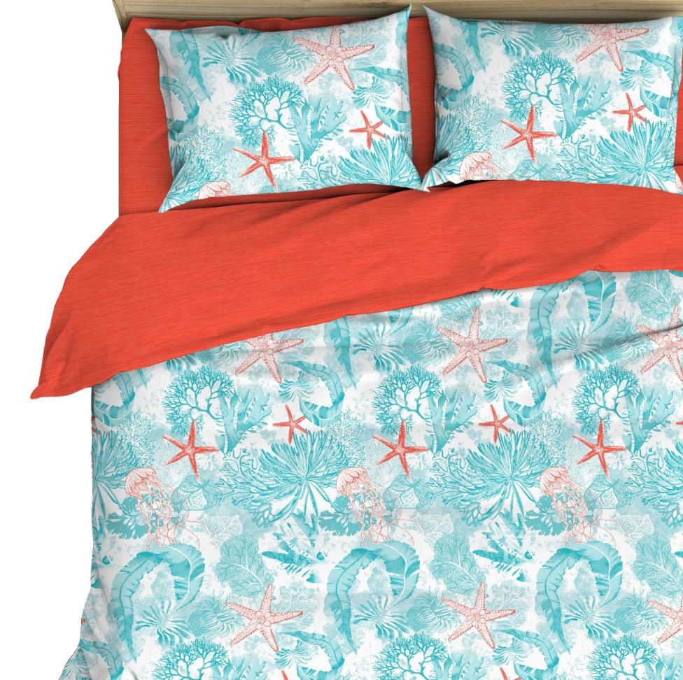 Постельное белье Голубая лагуна (бязь) (2 спальный) постельное белье примавера постельное белье корнелия 2 спал