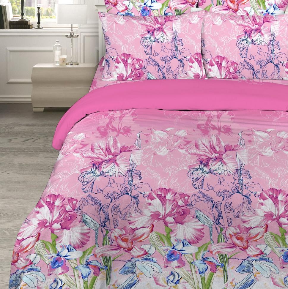 Постельное белье Великолепный ирис (бязь) (2 спальный) постельное белье примавера постельное белье корнелия 2 спал