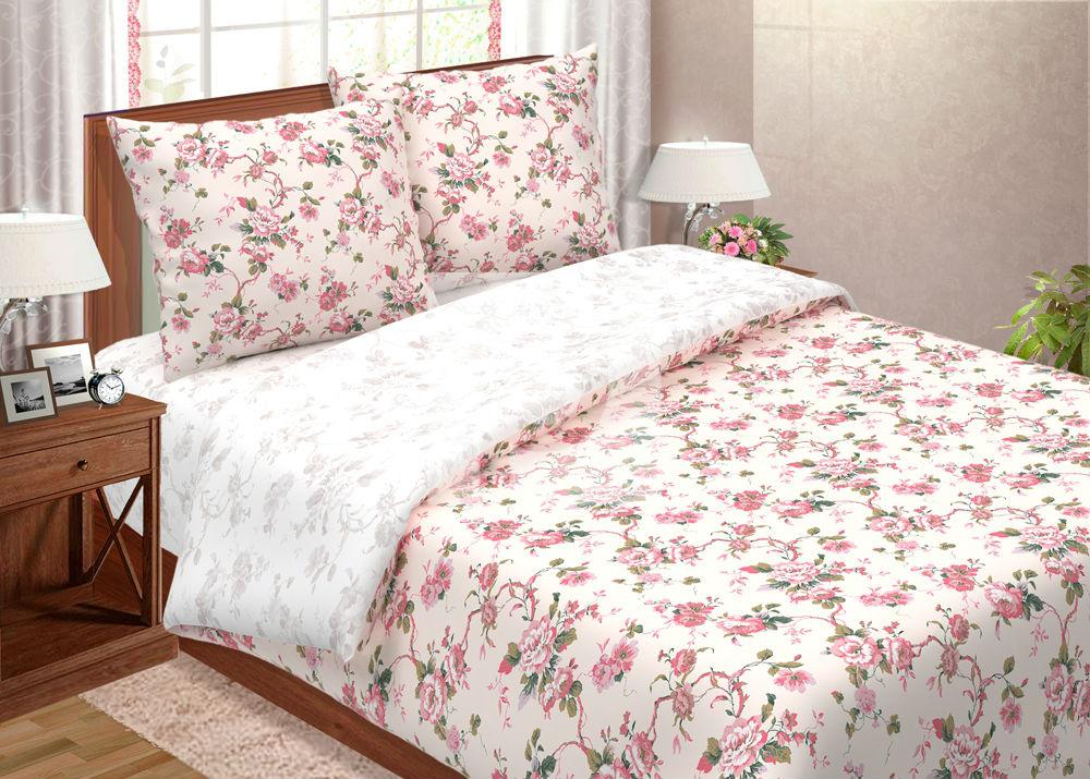 """Постельное белье """"Зефир"""" (поплин) (2 спальный) постельное белье экзотика 555 комплект 2 спальный поплин"""