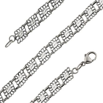 Браслет серебряный 7302693 (18) браслет серебряный 730085б 18