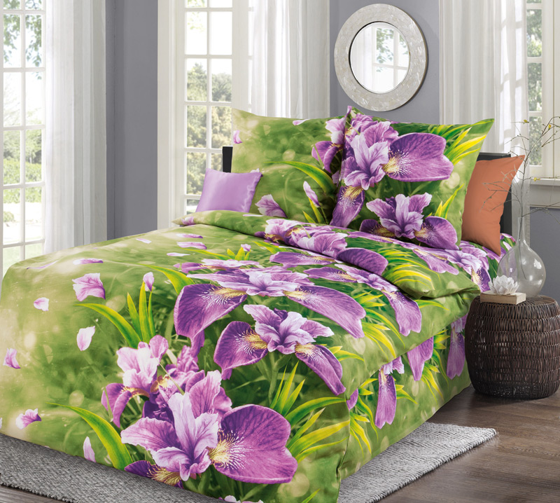 Постельное белье Анастасия (бязь) (1,5 спальный) постельное белье жаркое лето бязь 1 5 спальный