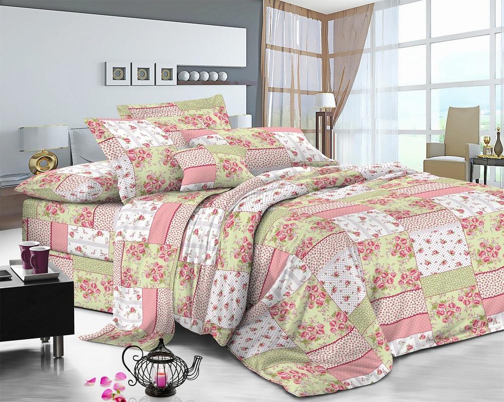 Фото - Постельное белье iv50593 (поплин) (1,5 спальный) постельное белье iv76089 поплин 1 5 спальный