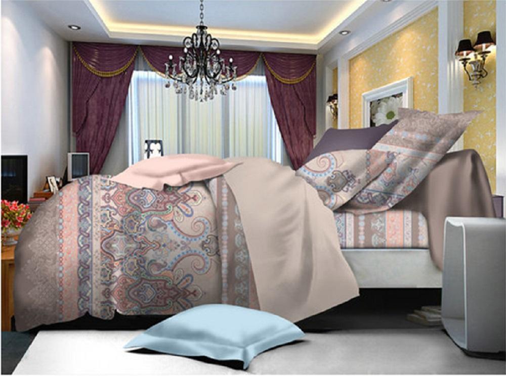 Постельное белье iv50594 (поплин) 1,5 спальный