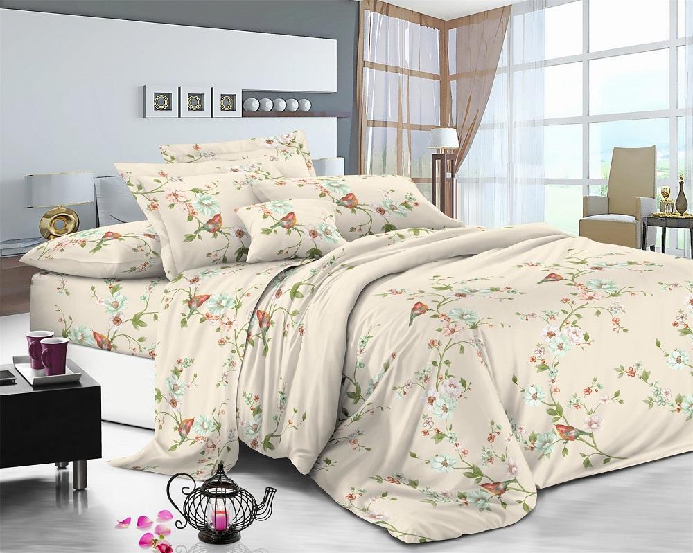 Фото - Постельное белье iv50595 (поплин) (1,5 спальный) постельное белье iv76089 поплин 1 5 спальный