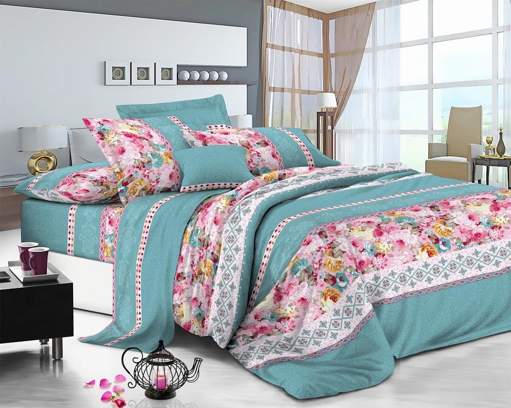 Фото - Постельное белье iv50599 (поплин) (1,5 спальный) постельное белье iv76089 поплин 1 5 спальный