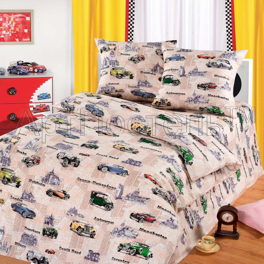 Постельное белье Автокруиз (бязь) (1,5 спальный) постельное белье размеры