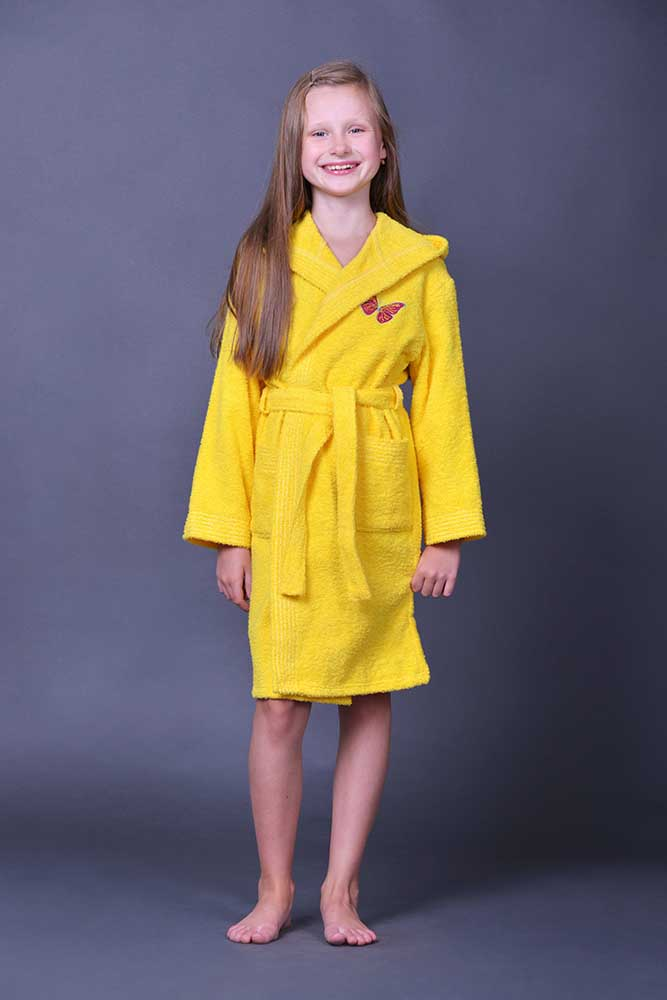 """Фото - Халат детский с капюшоном """"Вышивка"""" 40 от Грандсток"""