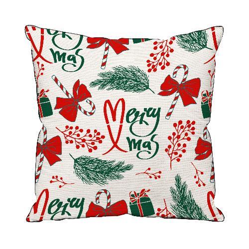 Подушка декоративная Мэри Крисмас (40*40) подушка декоративная праздник 40 40