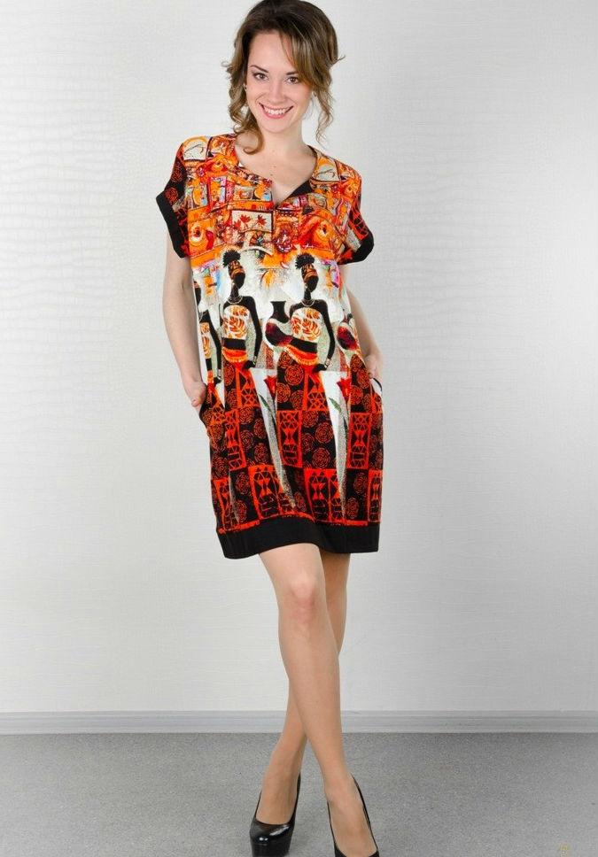 Туника женская #Файзи#, Размер: 50 - Платья и юбки - Туники