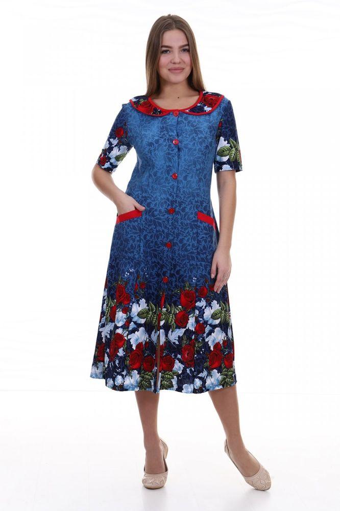 Халат женский #Чесстин#, Размер: 58 - Халаты - Легкие халаты