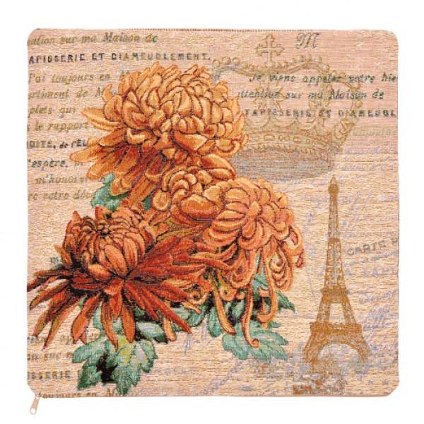 купить Наволочка декоративная Королевская хризантема (40*40) дешево
