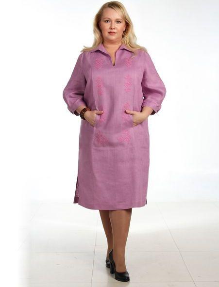 Платье льняное Любомира