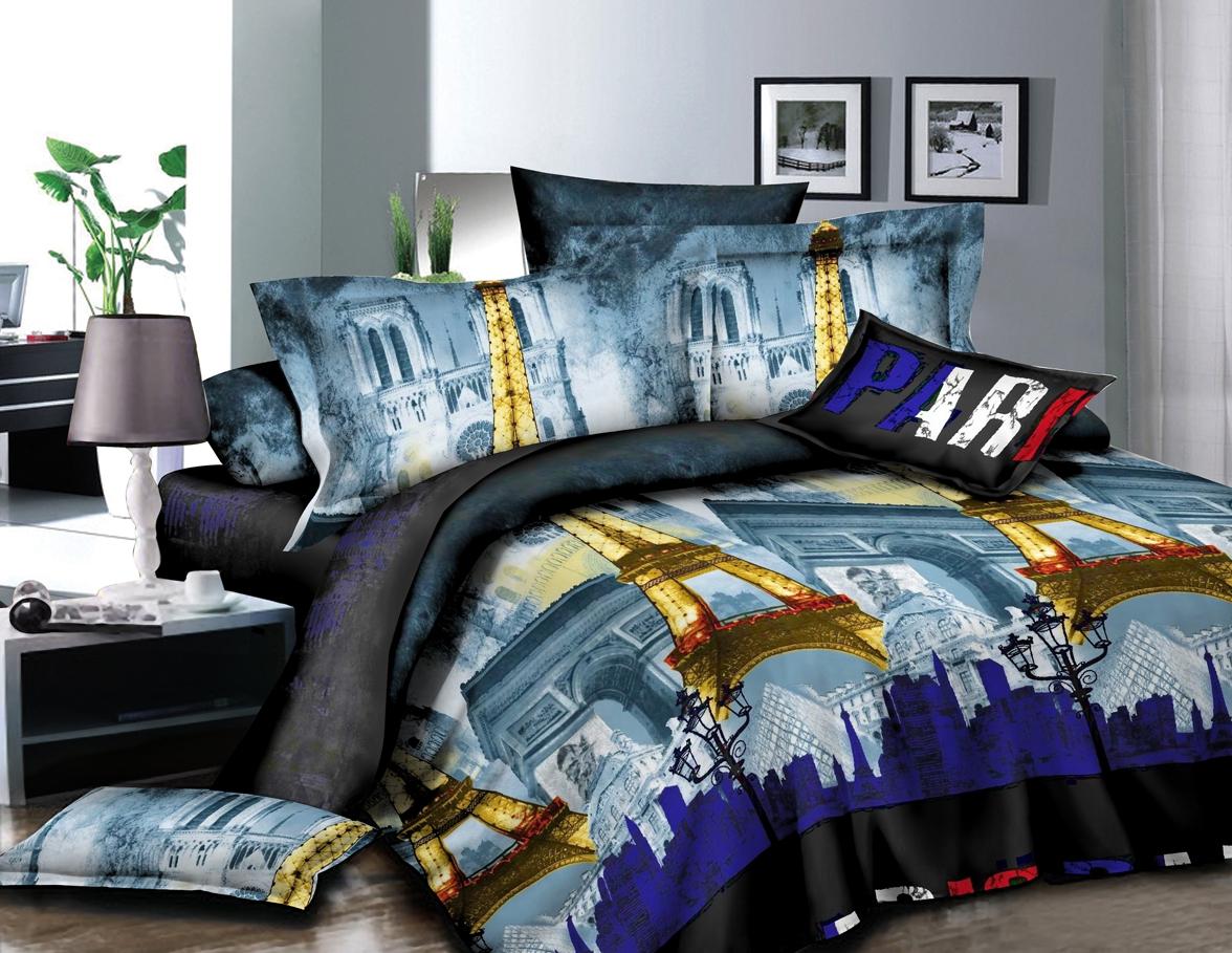 Постельное белье iv50414 (полисатин) (1,5 спальный) постельное белье король лев 3d полисатин