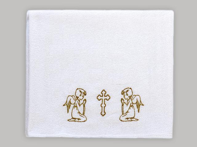 Полотенце крестильное махровое 75/150