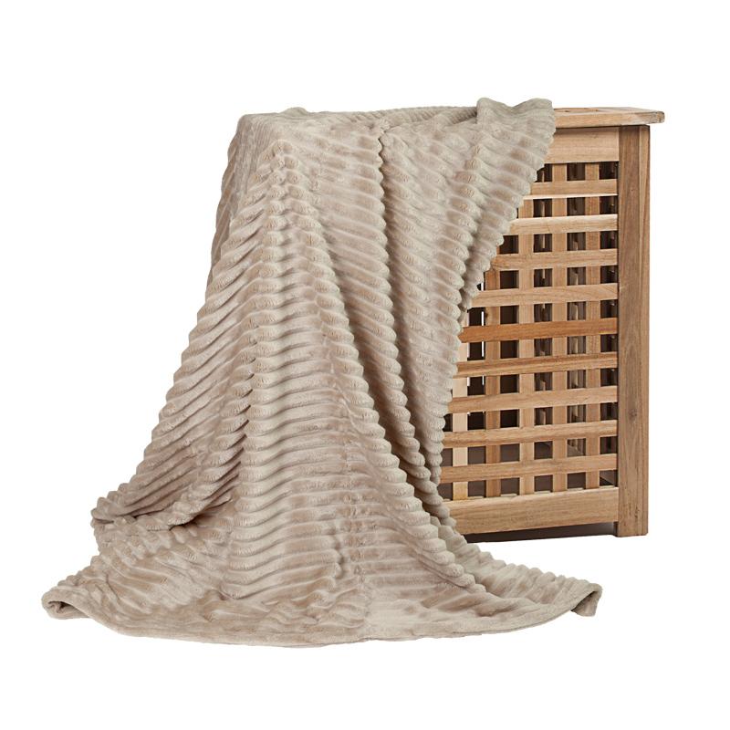 Плед Бали песочный (микрофибра) (150х200) плед absolute плед огурцы 150х200 см