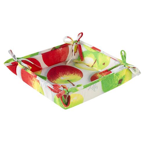 Текстильная ваза Яблочное угощение (20х20) текстильная ваза рукодельница 20х20