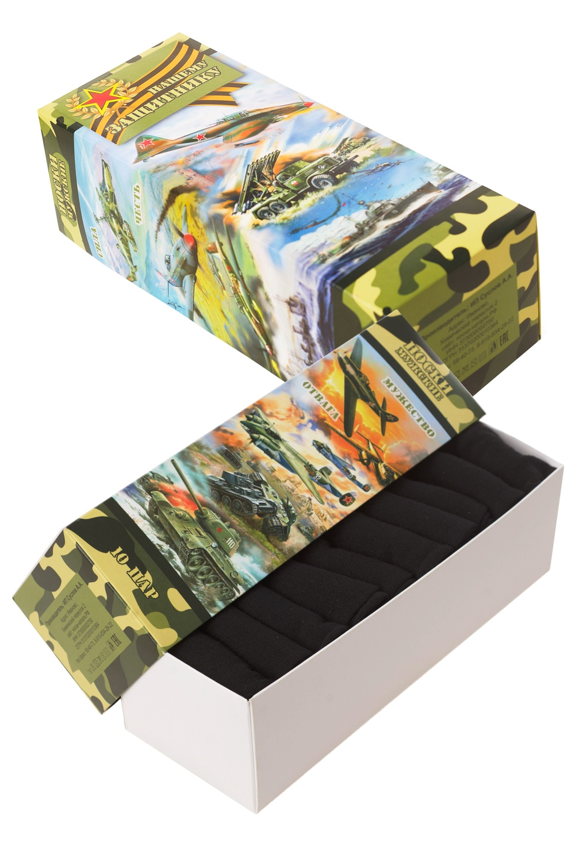Носки мужские Армейские (упаковка 10 пар) (40-47) носки мужские геннадий упаковка 5 пар