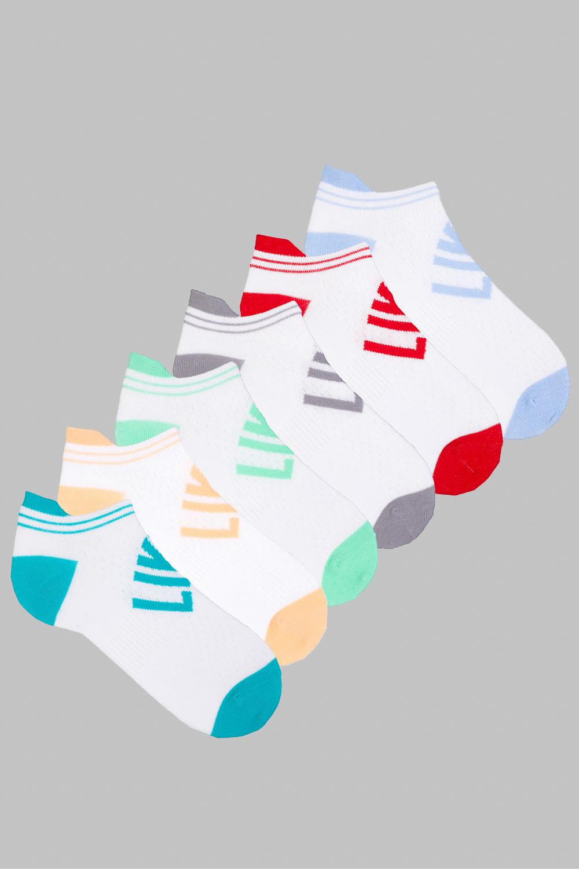 Носки женские Лайк (упаковка 6 пар) (23-25) носки женские милашка упаковка 6 пар 23 25