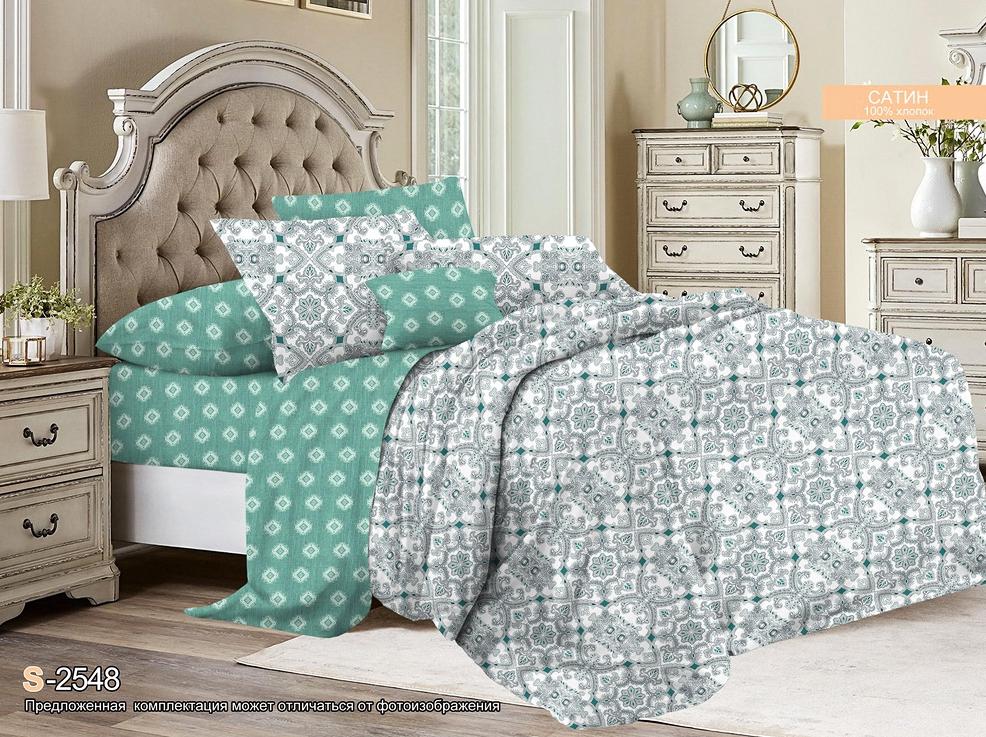Постельное белье iv54074 (сатин) (1,5 спальный) постельное белье софья сатин 1 5 спальный