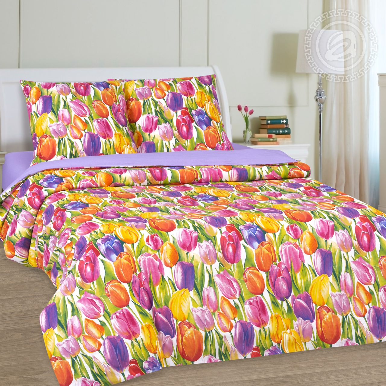 """Постельное белье """"Феерии"""" (поплин) (1,5 спальный) постельное белье экзотика 555 комплект 2 спальный поплин"""