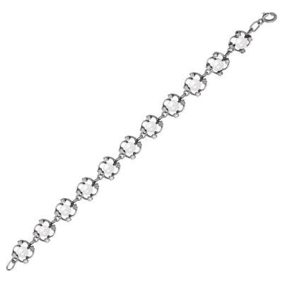 Браслет серебряный 733174 (18) браслет серебряный 730085б 18