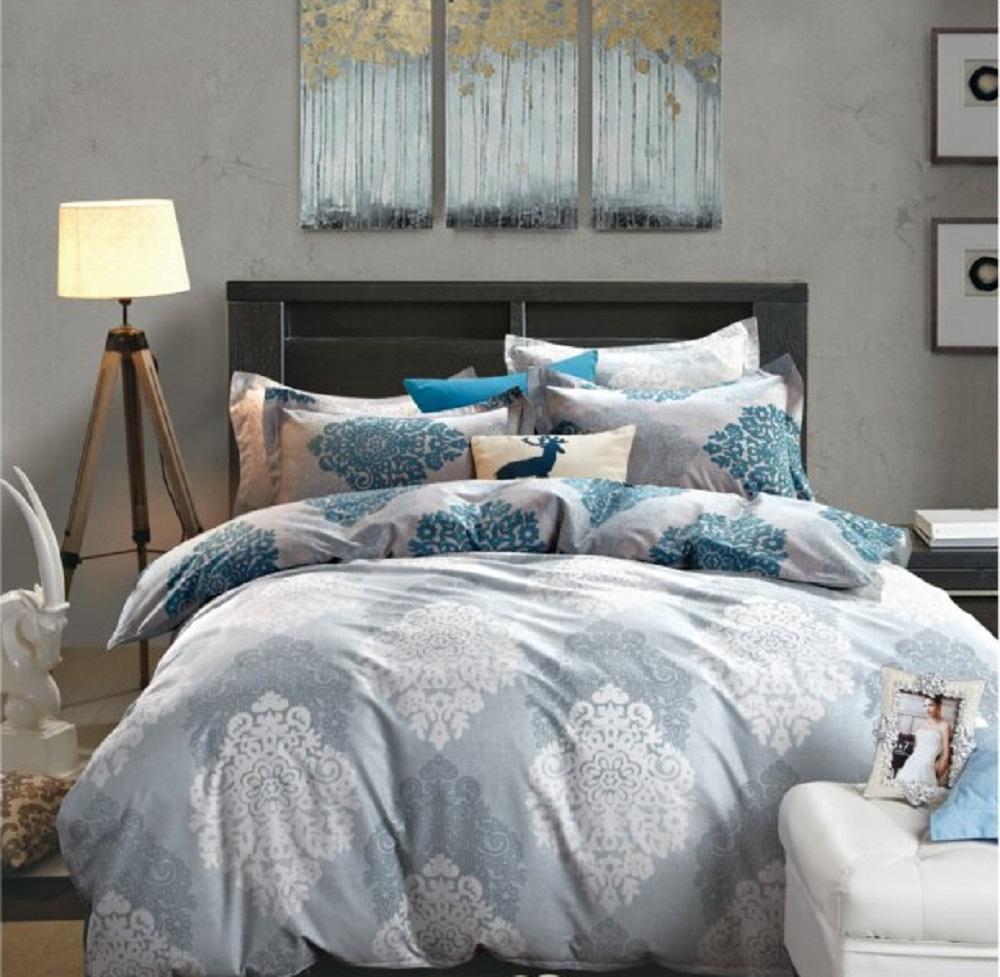 Постельное белье Антонина (сатин) (2 спальный) постельное белье cleo кпб сатин набивной люкс дизайн 365 2 спальный