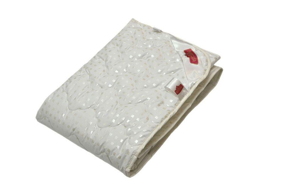 Одеяло летнее Пушинка (лебяжий пух, тик) (Детский (110*140)) одеяло летнее хорошие сны овечья шерсть тик детский 110 140